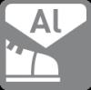 Zehenschutz, Aluminium