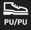 Laufsohle aus PU/PU