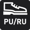Laufsohle aus PU/RU